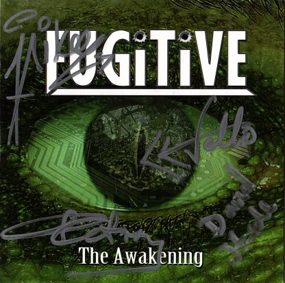 Fugitive - The Awakening signed copy